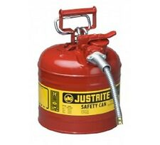 Safety Can 7.5 litre Type 2 Justrite for flammable liquids -7220120Z
