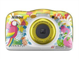 Nikon Digital Camera 3x COOLPIX W150 Resort Waterproof Bluetooth w/ Tracking NEW