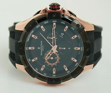 Bernhard H. Mayer B2419/CW Rose Gold Plated & Steel Victor Chronograph Men's