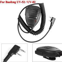 Hand Speaker Microphone PTT for Baofeng UV-5R UV-82 Walkie Talkie Two Way Radio