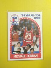 Michael Jordan # 21 Basketball Card '89 NBA  Hoops, All-Star Game