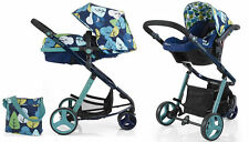 New Cosatto woop pram & pushchair Nightbird with bag footmuff & hold car seat