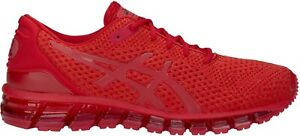 Asics GEL-QUANTUM 360 Knit 2 Mens Red Trainers Neutral Running Shoes T840N-602