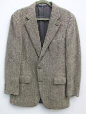 Vintage Ralph Lauren Polo Sports Jacket Black/Winter White Herringbone 39L-40L