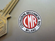 CMR Milano Classic Car Wheel STICKERS 27mm Set of 5 60's Alfa Romeo Borrani Race