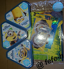 TOPPS - LES MINIONS - TRADING CARD GAME - STARTER PACK + 3 BOX COLLECTOR