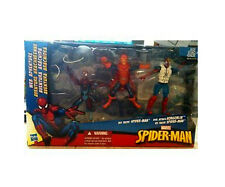Universo Marvel Comics Spiderman Juguete Figura Set con rara placa Duende Villano