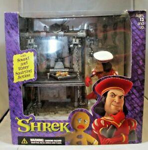 THE DULOC DUNGEON SHREK playset diorama McFarlane toys 2001 NEW IN BOX