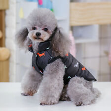 Pet Dog Clothes Winter Warm Insulated Padded Coat Jacket Windproof Clothing