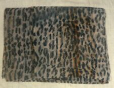 Vintage Super Animal Print Chiffon- Length 4 yds