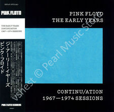 PINK FLOYD THE EARLY YEARS: CONTINU/ATION 1967-1974 SESSIONS CD MINI LP OBI