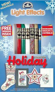 6 Skeins DMC Cross Stitch Floss Set Christmas / Holiday Collection #LTE317WPK4