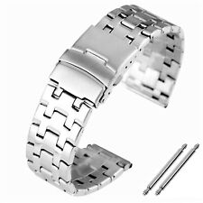 Uhrenarmband Edelstahl 24mm Stegbreite Ersatzband Armband FALTSCHLIESSE