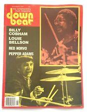 DownBeat Jazz Magazine 1977 Billy Cobham Louie Bellson Red Norvo Pepper Adams