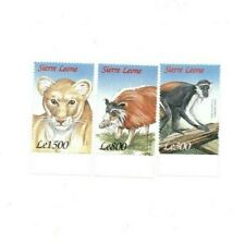 VINTAGE CLASSICS - Sierra Leone Wildlife - Set Of 3 Stamps - MNH