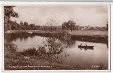 Dumfriesshire; Fishers Lodge, River Nith, Dumfries RP PPC, 1950 PMK, Valentines