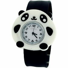 The Olivia Collection Kids Silicone Slap on Watches Xmas Gift for Girls Boys Panda