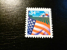United States Scott 3470, the 34 cents Flag over Farm stamp Mint