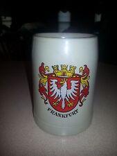 Frankfurt .5 liter stein stoneware