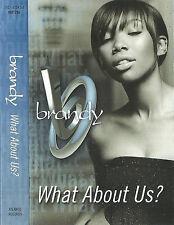 Brandy What About Us? CASSETTE SINGLE Hip Hop RnB/Swing 2002 Atlantic AT0125C
