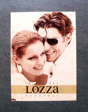 [GCG] I120- Advertising Pubblicità - LOZZA COLLEZIONE OCCHIALI