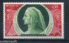 MONACO 1966, timbre 683, DANTE ALIGHIERI, PORTRAIT, neuf**