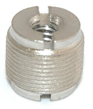 """Adapter 1/4"""" 20 Female to standard microphone 5/8"""" 27 Male Thread 5794"""