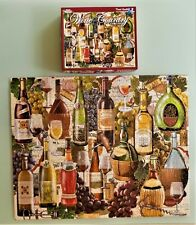 1000 Piece White Mountain Puzzle WINE COUNTRY Nice Thicker Pieces 2012 Excellent