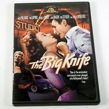 The Big Knife (DVD, 2002) Jack Palance Ida Lupino OOP Rare Noir DVD Free Ship