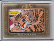 2020 Goodwin Champions Cat Collection Manufactured Patch #5 American Shorthair