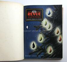 Esso Revue - Album relié 1950 - Standard Française des Pétroles - Revue Interne