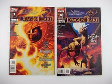 DRAGONHEART (1996 TOPPS) 1-2 Issues, Complete Movie Adaptation