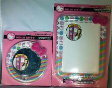 Hello Kitty Locker Essentials - Magnetic Round Mirror and Dry Erase Board