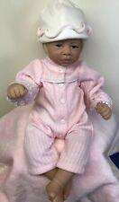 "15"" Artista Charisma Baby Doll ""Small Wonder"" W/ Pink Blanket #104 COA And Box"
