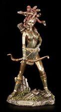 Medusa Figur - Mit Bogen und Pfeilköcher - griechische Göttin Gorgone - Veronese
