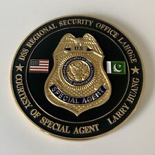 State Department Diplomatic Security Service Challenge Coin - Pakistan