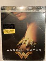 New! - Wonder Woman Steelbook Edition (4K UHD Blu-Ray + Blu-Ray + Digital)  GST7
