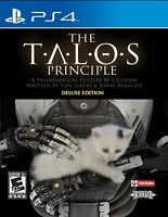 The Talos Principle: Deluxe Edition [PlayStation 4 PS4, Gehenna, Puzzle] NEW
