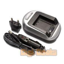 Battery Charger for SONY NP-FT1 Cybershot DSC-T33 DSC-T11  Wall + Car Adapter