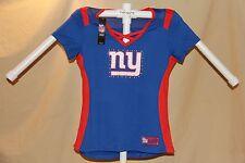 New York NY Giants  NFL Fan Fashion JERSEY/Shirt MAJESTIC Womens Large  NWT $55