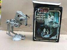 Star Wars Scout Walker Vehicle, Rare French, complete with box and instructions