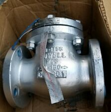 """Powell 1561 3"""" Cast Carbon Steel Flanged Swing Check Valve"""