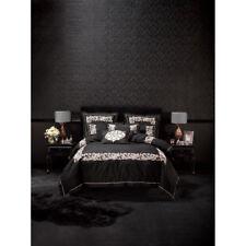 Alex Perry Linen House Palazzo Black Super King Size Duvet Doona Quilt Cover Set