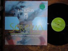 """Michael Jackson grito Raro 12"""" con Janet Jackson mezclas de 6 X 1995"""