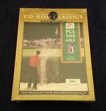PGA Tour Golf Gold Edition – MS DOS –  windows 95 New Seraled in plastic Wrap...