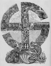 German WW2 SS Vår ære er Troskap Recruitment Norwegian picture