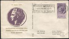 1955 - Redditi - Sassone n.778 -  Busta F.D.C. ALA