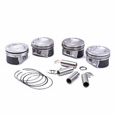 4PCS Piston&Ring Set 1.4TSI Ø76.5mm Fit AUDI A1 A3 S1 S3 VW Golf Jetta Tiguan CC