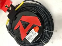 ACCURATE A LINE WAKEBOARD / WATER SKI 80FT MAIN LINE – COLOR: BLACK – NEW!!!