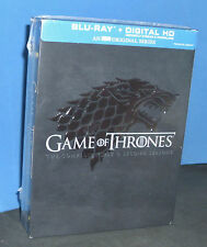 Game of Thrones: The Complete 1st & 2nd Seasons (Blu-ray Disc, 2014)